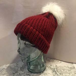 Hand Knitted Beanie Santa Hat